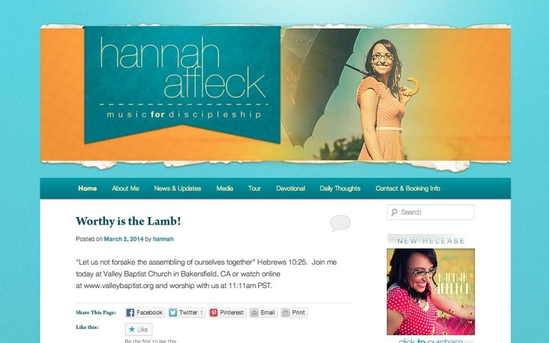 Hannah Affleck